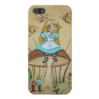 Alice in Wonderland Bread and Butter Flies Case