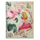 Alice in Wonderland Bridal Shower Guest Book