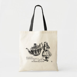 Alice in Wonderland Budget Tote Bag
