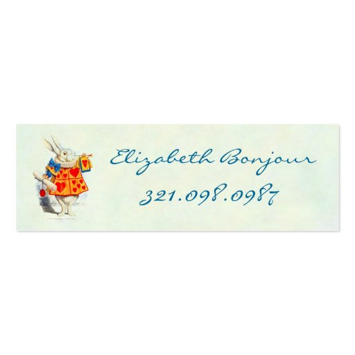 Alice in Wonderland ~ Business & Calling Card Business Cards