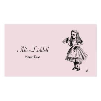 Alice in Wonderland Business Card