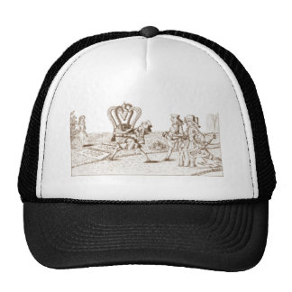 Alice in Wonderland By Lewis Carroll Sepia Tint Trucker Hat