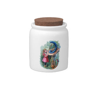 Alice In Wonderland Candy Jar