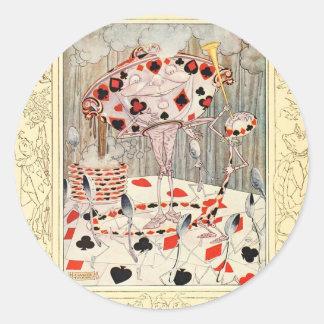 Alice in Wonderland Card Battle Stickers