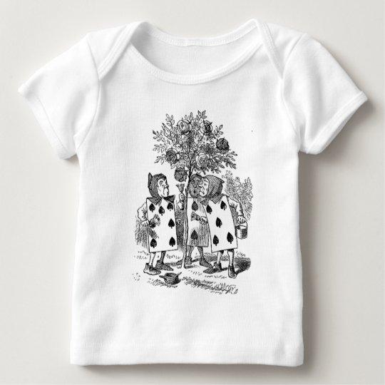Alice in Wonderland Card Soldiers Baby T-Shirt