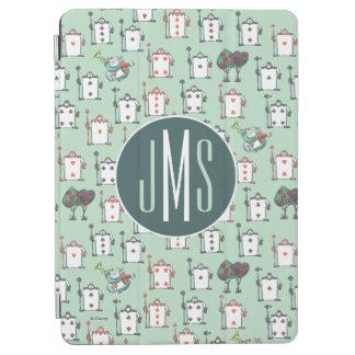 Alice In Wonderland | Card Soldiers - Monogram iPad Air Cover