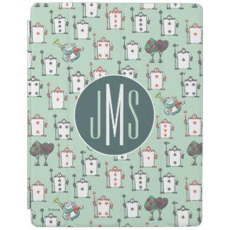 Alice In Wonderland | Card Soldiers - Monogram iPad Smart Cover