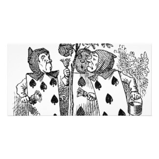 Alice in Wonderland Card Soldiers Photo Greeting Card