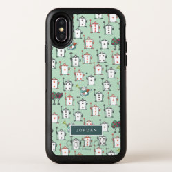 OtterBox Apple iPhone X Symmetry Case with Frozen's Olaf the Snowman Sliding design