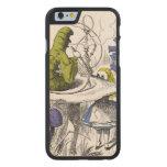 Alice in Wonderland Carved® Maple iPhone 6 Case