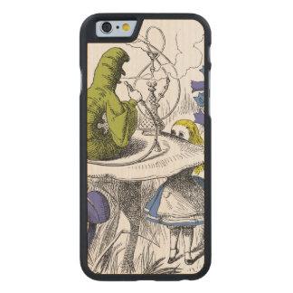 Alice in Wonderland Carved Maple iPhone 6 Slim Case