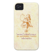 Alice in Wonderland Case-Mate iPhone 4 Cases