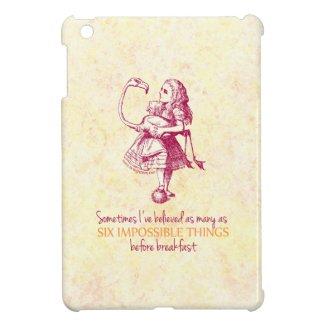 Alice in Wonderland Case For The iPad Mini