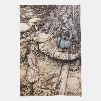Alice in Wonderland Caterpillar Kitchen Towel