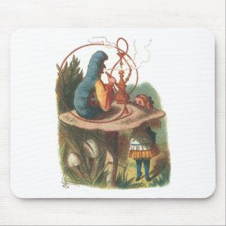 Alice in Wonderland Caterpillar Mouse Pads