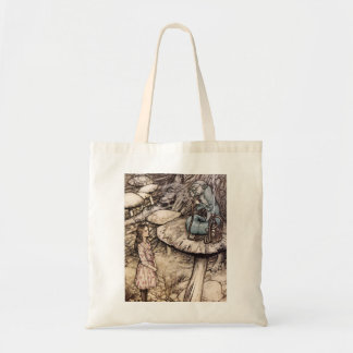Alice in Wonderland Caterpillar Tote Bag