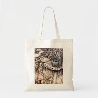 Alice in Wonderland Caterpillar Tote Bag