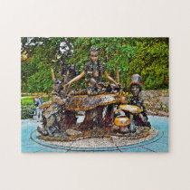 Alice in Wonderland Central Park. Jigsaw Puzzle