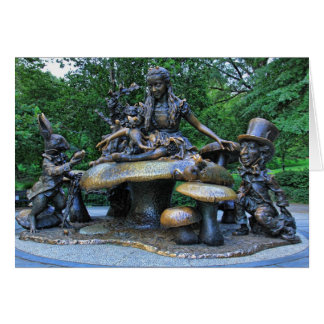 Alice in Wonderland - Central Park NYC Card