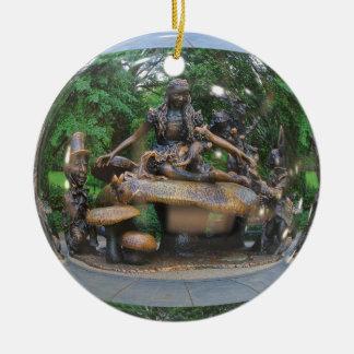 Alice in Wonderland - Central Park NYC Ceramic Ornament