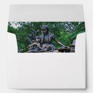 Alice in Wonderland - Central Park NYC Envelopes