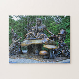 Alice in Wonderland - Central Park NYC Jigsaw Puzzle
