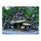 Alice in Wonderland - Central Park NYC Postcard