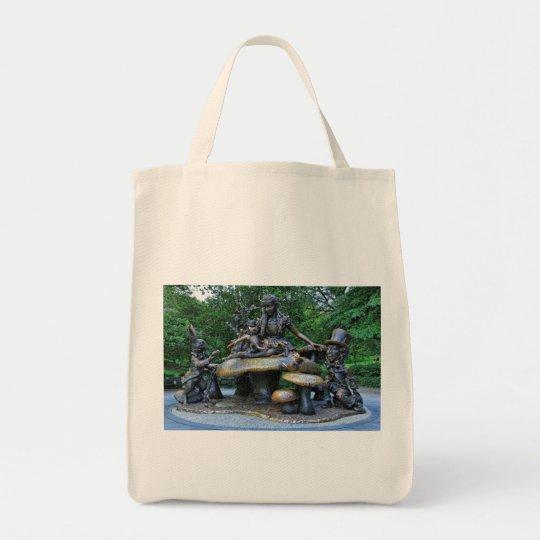 Alice in Wonderland - Central Park NYC Tote Bag