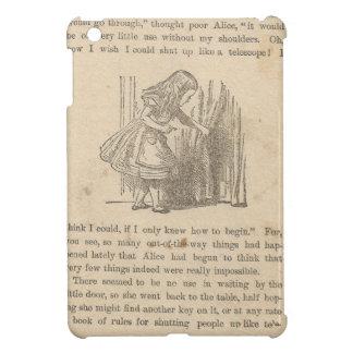 Alice In Wonderland Chapter One Down the Rabbit iPad Mini Case
