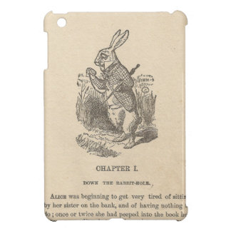 Alice In Wonderland Chapter One Down the Rabbit iPad Mini Covers