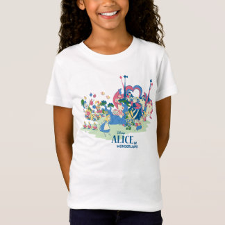 Alice in Wonderland Characters T-Shirt