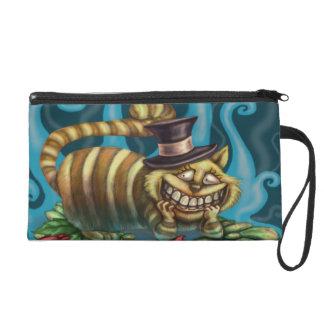 Alice in Wonderland Cheshire Cat Wristlet Purses