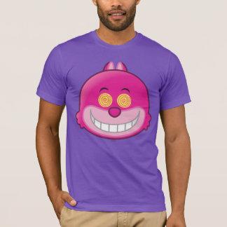 Alice in Wonderland   Cheshire Cat Emoji 2 T-Shirt