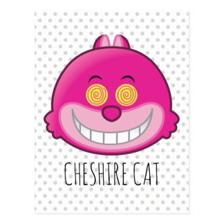 Alice in Wonderland | Cheshire Cat Emoji Postcard