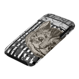 Alice In Wonderland Cheshire Cat Grunge iPhone 3 Covers