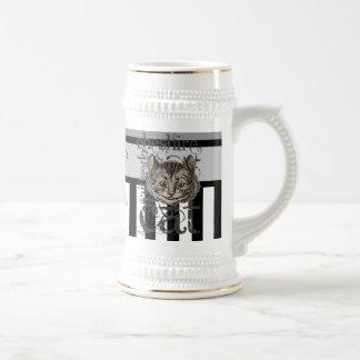 Alice In Wonderland Cheshire Cat Grunge Coffee Mug