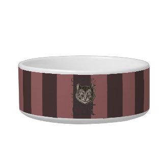 Alice In Wonderland Cheshire Cat Grunge (Pink) Bowl