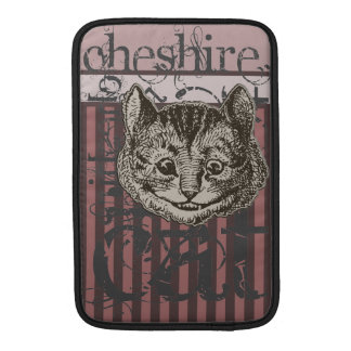 Alice In Wonderland Cheshire Cat Grunge (Pink) Sleeves For MacBook Air