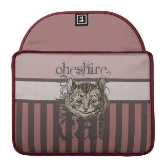 Alice In Wonderland Cheshire Cat Grunge (Pink) MacBook Pro Sleeve