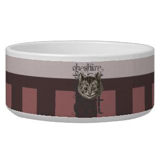 Alice In Wonderland Cheshire Cat Grunge (Pink) Pet Bowls