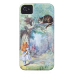 Alice in Wonderland Cheshire Cat iPhone 4 Case