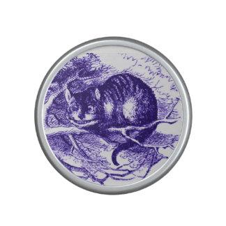 Alice in Wonderland Cheshire Cat Purple Bluetooth Speaker