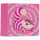 Alice in Wonderland | Cheshire Cat Smiling 3 Ring Binder