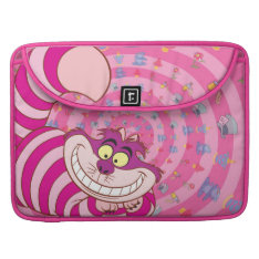 Alice In Wonderland | Cheshire Cat Smiling Macbook Pro Sleeve at Zazzle