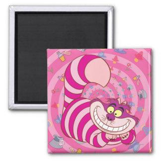 Alice in Wonderland   Cheshire Cat Smiling Magnet