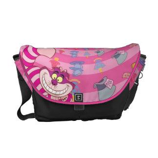 Alice in Wonderland | Cheshire Cat Smiling Messenger Bag
