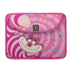 Alice In Wonderland   Cheshire Cat Smiling Sleeve For Macbook Pro at Zazzle