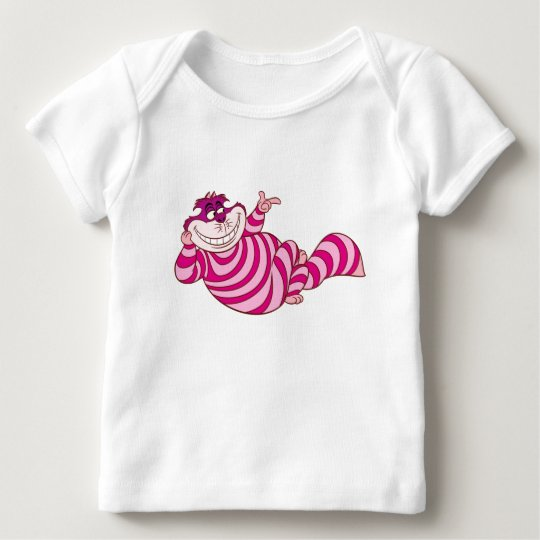 Alice in Wonderland Cheshire Cat snap finger Baby T-Shirt