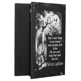 Alice in Wonderland; Cheshire Cat with Alice iPad Air Covers