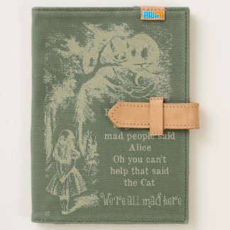 Alice in Wonderland; Cheshire Cat with Alice Journal
